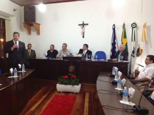 Superintendente dos portos paranaenses recebe título de cidadão honorário de Antonina