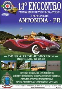13º Encontro de veículos antigos de Antonina