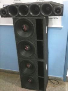 PM de Antonina apreende equipamentos de som
