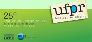 25º. Festival de Inverno da UFPR