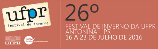26º Festival de Inverno da UFPR